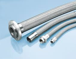 Braided hoses for various purposes including hot and cold water transfer