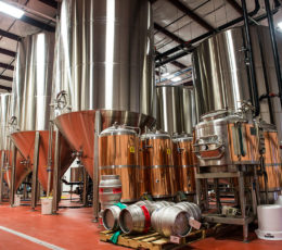 Stainless steel tanks for brewing and cider making