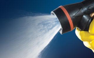 Spraying Systems Wheaton, IL nozzle gun hose wash-down rinse